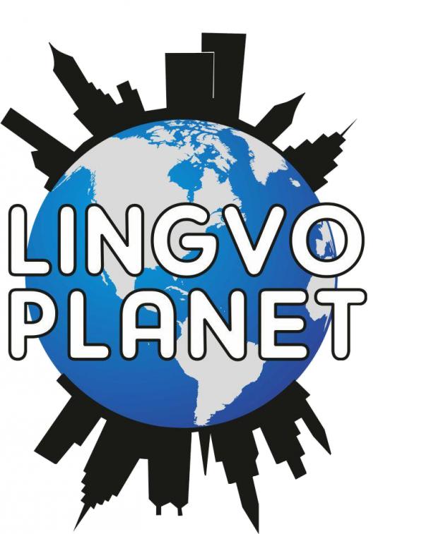 Логотип компании LINGVO PLANET